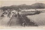 CPA 13 MARSEILLE BONNEVEINE Le Boulevard Le Long De La Mer Tramways Animation 1904 - Quatieri Sud, Mazarques, Bonneveine, Pointe Rouge, Calanques