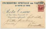 CASALE MONFERRATO, ALESSANDRIA - ROTA CESARE Inchiostri Speciali Per Sacchi 190? - Alessandria