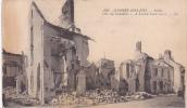 20683 Guerre 1914-15 Senlis Rue Incendiée; LL 169- Signée Albert Demoy ? Sergent
