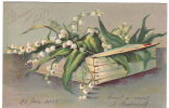 20685 Muguet Caisse. Bonne Fete . En Relief .  Sans éditeur . 1905 - Fleurs, Plantes & Arbres