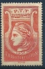 "Radiodiffusion YT 2 "" Sans Valeur Rouge "" 1935-37 Neuf * - Radiodiffusion"
