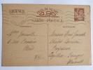 CARTE POSTALE PREAFFRANCHIE RESERVEE A LA CORRESPONDANCE FAMILIALE - Guerra 1939-45
