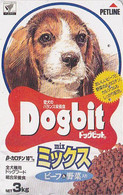 Télécarte Japon - CHIEN BEAGLE / Petline  Food - DOG Japan Phonecard - HUND - CANE - PERRO - 1007 - Honden