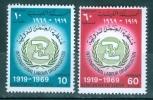 Libya 1969 ILO, 50th Anniversary MNH** - Lot. 894 - Libye