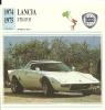 Auto Car Carte Collectioneur Collector Card Edito-Service / Lancia - Other