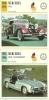 Auto Car Carte Collectioneur Collector Card Edito-Service / 3x Mercedes 1x Daimler - Andere Sammlungen