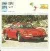 Auto Car Carte Collectioneur Collector Card Edito-Service / Dino Ferrari - Other