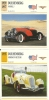 Auto Car Carte Collectioneur Collector Card Edito-Service / 2x Duesenberg - Sonstige