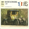 Auto Car Carte Collectioneur Collector Card Edito-Service / Rochet-Schneider - Other