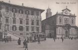 PISA PIAZZA DEI CAVALIERI- BELLA FOTO ANIMATA AUTENTIQUE D´EPOCA 100% - Pisa