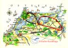 Deutsche Lufthansa - Flugstrecke Urlauber-Rundflüge Barth - (Nr. 7) 1961  [db09] - 1946-....: Moderne