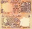 INDIA      10 Rupees      P-95[e]       2010       UNC  (letter M) - India