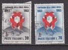 PGL - ITALY SASSONE N°963/64 - 1961-70: Usados