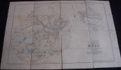 Rare Plan Parcellaire POPP De MOHA Arrondissement De Huy Canton De Héron Dans Sa Pochette - Cartes Topographiques