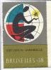 Expo 58 - Exposition Universelle, Bruxelles 1958 - Vignettes Isolée - Vignettes De Fantaisie