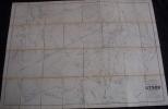 Rare Plan Parcellaire POPP De STREE Arrondissement De Charleroi Canton De Beaumont Dans Sa Pochette +liste - Cartes Topographiques