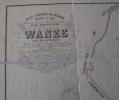 Rare Plan Parcellaire POPP De WANZE Namur Huy - Cartes Topographiques