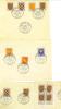 VEND TIMBRES DE FRANCE N° 999 A 1005 , OBLITERATIONS 1° JOUR:PARIS,3 NOVEMBRE 1954+BLOC DE 4 COIN DATE EN JAUNE!!!! (a) - 1921-1960: Periodo Moderno