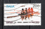 Italia   -   1982.  Campionati  Mondiali  Juniores  Di  Canottaggio.  Viaggiato - Rowing