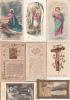 LOT DE 15 IMAGES PIEUSES DIVERSES - Images Religieuses