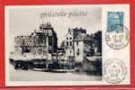 FRANCE CENTENAIRE DU TIMBRE SUR CARTE DU 17/12/1949 DU HAVRE - Cartoline Maximum