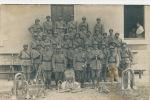 MILITARIA - REGIMENT - Carte Photo Militaires Posant Avec Instruments De Musique (non Située) - Inscription 27 Sur Cols - Regiments