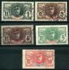 Haut Sénégal Et Niger (1906) N 1 à 5 (o)
