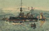 ( CPA BATEAUX DE GUERRE )  BRENNUS, Cuirassé D' Escadre  / - Warships