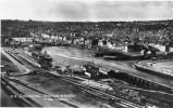 CPSM  CHERBOURG  Panorama De La Ville Et Des Bassins - Cherbourg