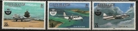 Turks Et Caiques Caicos 1985 N° 60 / 2 ** OACI, Aviation Civile, Avions, DC3, Convair 440, TCNA Islander - Turks & Caicos