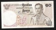 THAILAND   P83i 10  BAHT   1969 #2F   Signature 49    VF     NO P.h. ! - Tailandia