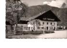 AK Cafe Restaurant Hofer Weissenbach Tirol Lechtal Mit VW 1200 Sw 1963 - Hotels & Gaststätten
