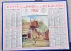 CALENDRIER DE 1937 - Groot Formaat: 1921-40