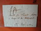 Frankreich: Vorphilabrief 1787 ! - Frankreich