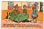 PERMISSION AGRICOLE Pour Cultiver Mes Relations - Militaria Patriotique Guerre 14 - Dos Scané - Humoristiques
