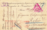 PC, FROM PRISON OF WAR PRISONERS, CENSORED VIENNA,  WW1, 1918, ROMANIA - 2. Weltkrieg