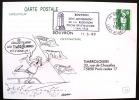 FRANCE: Obliteration Thematique Temporaire 50° Anniversaire 2° Guerre Mondiale: BOUVRON 11/05/1990 - 2. Weltkrieg