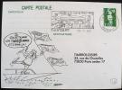 FRANCE: Obliteration Thematique Temporaire 50° Anniversaire 2° Guerre Mondiale: RAUCOURT   19/07/1990 - 2. Weltkrieg