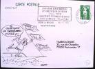 FRANCE: Obliteration Thematique Temporaire 50° Anniversaire 2° Guerre Mondiale: ROCHE LA MOLIERE  15/05/1990 - 2. Weltkrieg