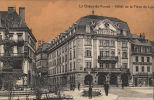 LA CHAUX-DE-FONDS - Hôtel De La Fleur-de-Lys - Vue Animée Colorisée, Pharmacie BEGUIN - NE Neuenburg