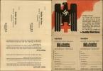 Dt. Rotes Kreuz Reklame Monatszeitschrift Doppel-Klapp AK ! 1940 - Cinderellas