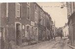 21 IS sur TILLE  Rue anim�e CAFE TABAC le Bureau de POSTE 1918