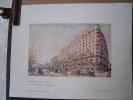 """Encart Publicitaire """"L'Hôtel De Paris"""" Par Henri Noizeux, Extrait Revue Fémina Juillet 1928. - Publicités"""