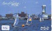 Télécarte Japon * BATEAU VOILIER * Sailing SHIP (206) Phonecard Japan * SCHIFF * Segelschiff * Zeilboot * YACHT - Boten
