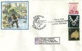 USA. Centenaire Des Mines D´Or De Hudson, Etat Du Wyoming., Enveloppe Souvenir - Minerals