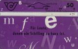 AUSTRIA - Lettern Card 53, CN : 401A, 03/94, Used