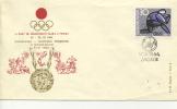 1964 OLYMPIC FDC - ZAGREB (YUGOSLAVIA) - Summer 1964: Tokyo