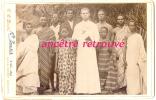 Grand CDV Identifié-SUPERBE-Alphons E RIBER 1899, Missionnaire-colonie-noir S C.C Davis- Cote D´or (Ghana Actuel) Quitta - Photos