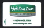 HOTEL KEY CARD  - HOLIDAY INN HOTELS - RESORTS  - - Hotel Keycards