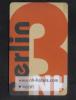 HOTEL KEY CARD  - ( GERMANY )  BERLIN HOTEL - Hotel Keycards